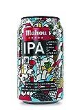 Mahou 5 Estrellas Session IPA Cerveza Dorada Indian Pale Ale, 4.5% de Volumen de Alcohol - Lata de 33 cl