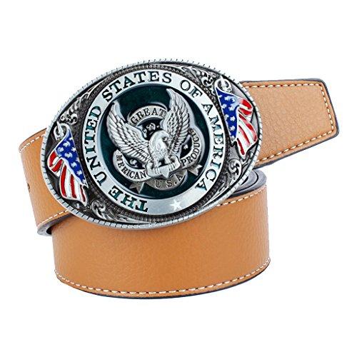 MagiDeal Cintura In Pelle Di Lusso Cowgirl Americano Cowgirl Cintura In Vita