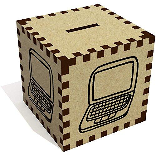 Azeeda 'Ordenador Portátil' Caja Dinero / Hucha MB00051031