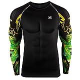 zipravs MMA Kompressions-Shirt, langärmelig XL ZCDS-069