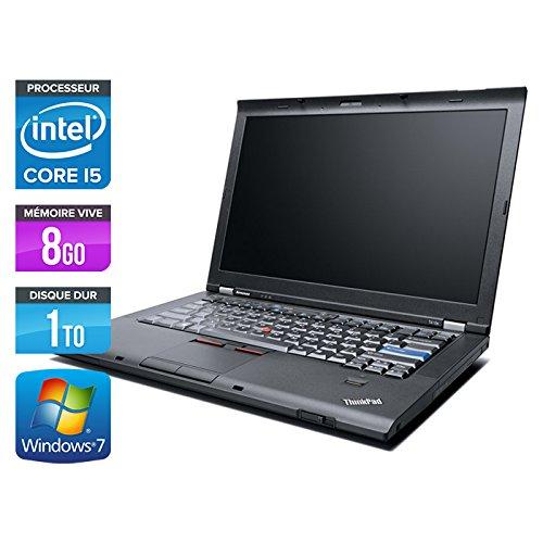 'Lenovo ThinkPad T410-PC portatile-14,1-Nero (Intel Core i5-520M/2.40GHz, 8GB di RAM, HDD 1TB, Masterizzatore DVD, Windows 7Professionale)