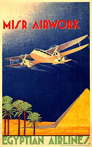 egyptian-airlines-wonderful-a4-glossy-art-print-taken-from-a-rare-vintage-travel-poster