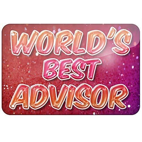 istisign Cartel de Aluminio con Texto en inglés World Best ...