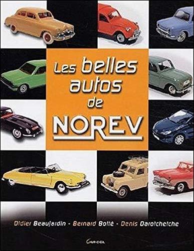 Les belles autos de Norev