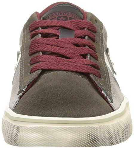 Converse - Pro Leather Vulc Ox Suede/Lth - , homme gris (Grey Dust/Black)
