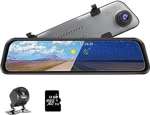 Jansite 12 Mirror Dash Cam 2k Hochauflösende Elektronik