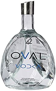 Oval 42 Plain Vodka 70 cl
