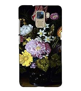 Fuson Designer Back Case Cover for Huawei Honor 7 :: Huawei Honor 7 (Enhanced Edition) :: Huawei Honor 7 Dual SIM (The flowerpot theme)