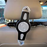 #1: Unifree Universal Car Back Seat Holder Stand for iPad, Tab/Tablet, Mounting System 360 Degrees Adjustable for iPad Air & Other Tablets Upto 7