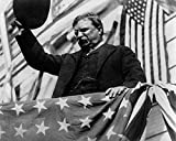 McMahan Photo Archive – President Theodore Roosevelt Campaigning in NJ 1912 Poster Drucken (25,40 x 20,32 cm)