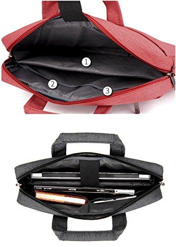 Lemberg) wasserabweisend 38,1cm Business Notebook shoudlder Tasche Messenger Umhängetasche Aktentasche rosa rose rose