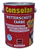 Consolan Wetterschutz-Farbe 5L (Braun)