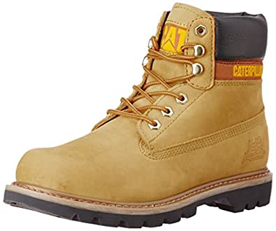 Cat Men's Colorado Golden Glow Leather Boots - 7 UK