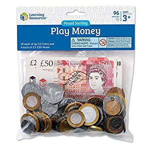 Learning Resources UK Money Pack from Learning Resources