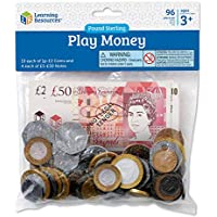 Learning Resources Realistic looking play money notes featuring 2017 designs