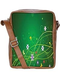 Snoogg Minimal Pretty Design Sling Bags Crossbody Backpack Chest Daypack Travel Bag Book Bag For Men&Women