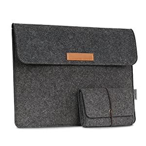 moko etui housse pochette en feutre de laine pour microsoft surface book 13 5 pouces ordinateur. Black Bedroom Furniture Sets. Home Design Ideas