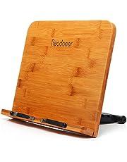 Readaeer® BamBoo Reading Rest Cookbook Cook Book Stand Holder Bookrest