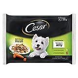 Cesar Delizie del Giorno Selezione in Gelatina cibo umido per cane 13 bustine da 100 g