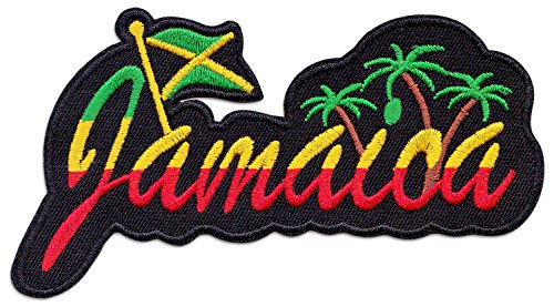 Jamaica parche planchar Patch Reggae raggamuffin Caribe