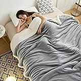 Dickes Kaschmir Große warme dicke Sherpa wirft Decke gewichtete Bettdecke für Bett oder Couch...