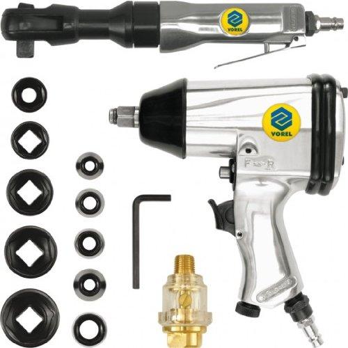 Preisvergleich Produktbild Vorel 81141–Schlagschrauber und die Umschaltknarre 17pcs Kit