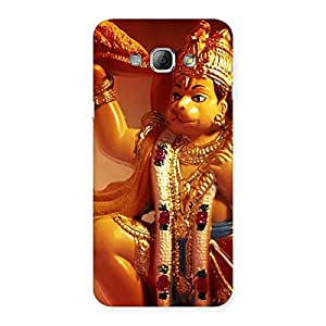 Delighted Lord Hanuman Multicolor Back Case Cover for Galaxy A8