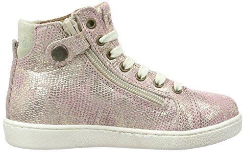 Bisgaard Schnürschuhe, Sneakers basses mixte enfant Pink (710 Rose)
