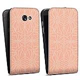 36e2ea295664a7 DeinDesign Samsung Galaxy A5 (2017) Flip Case Tasche Hülle Pattern Muster  Peach