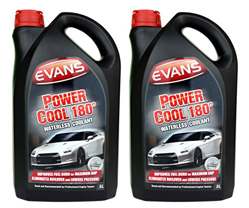 Evans Power Cool 180 Engine Coolant 2 x 5 Liters