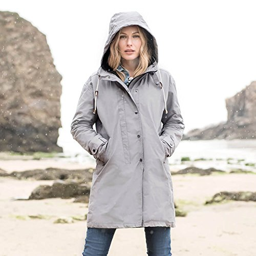 Celtic & Co -  Giacca impermeabile  - Donna Light Grey