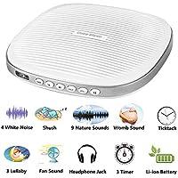 White Noise Machine, 20 Soothing Sleep Sound Machine with Headphone Jack, Sleep Timer, Sleep Sound Therapy System... preisvergleich bei billige-tabletten.eu
