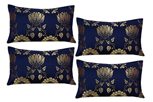 Milan™ Polycotton & Silk 4 Piece Pillow Covers - 27