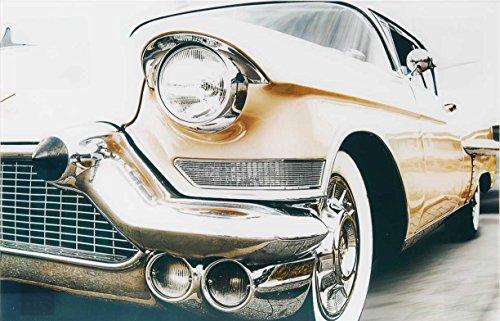 Eliware Glasbild Oldtimer Sammlerstücke   40x60cm   Beiges Auto