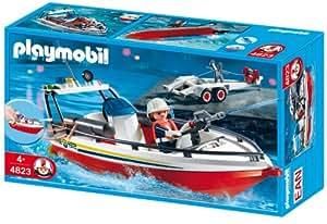 PLAYMOBIL 4823 - Feuerwehrboot