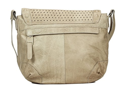Greenburry Stainwashed Sac bandoulière cuir 30 cm sand