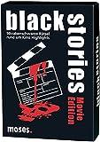 moses. black stories Movie Edition | 50 rabenschwarze Rätsel | Das Krimi Kartenspiel