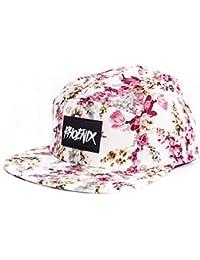 Phoenix 5-Panel Cap Casquette Avec Motif Floral Unisexe Baseball Hat Chapeau