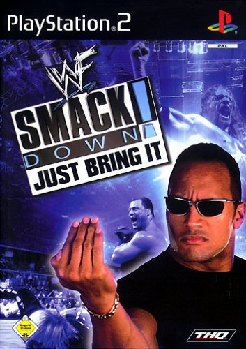 WWF Smackdown - Just bring it! (Wrestling Games Ps2)