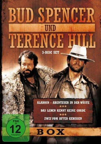 Bud Spencer & Terence Hill - Box - Vol. 6 (Aladdin - Abenteuer in der Wüste/Das Leben kennt keine Gnade/Zwei vom Affen gebissen) (3 Disc Set)