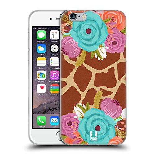 Head Case Designs Loup Animaux Aztèques 3 Étui Coque en Gel molle pour Apple iPhone 7 / iPhone 8 Girafe Super