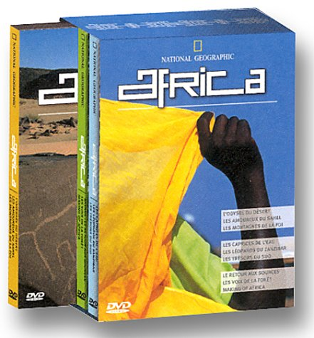 Coffrets National Geo Dvd :3 Dvd Africa [Edizione: Germania]
