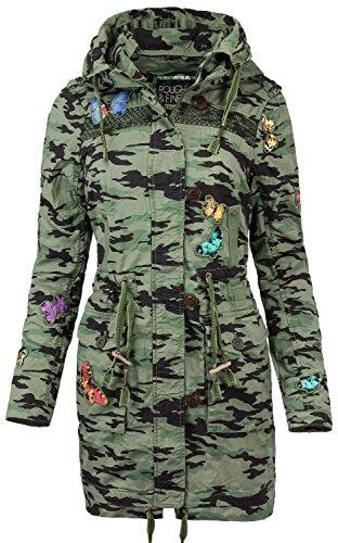 khujo Taipa Girl-Mantel Camouflage XXL -