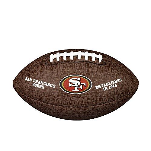 WILSON NFL Team Logo Composite Fußball, San Francisco 49ers, Official