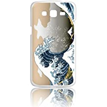 Funda Gel Flexible Samsung Galaxy Grand Prime BeCool Arte Japonés La gran ola Carcasa Case Silicona TPU Suave