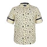 Urban Scottish Yellow Printed Cotton Shirt for Boys (4-5 Years)