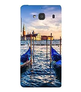 printtech Italy River Boats Gondola Back Case Cover for Xiaomi Redmi 2S::Xiaomi Redmi 2::Xiaomi Redmi 2 Prime