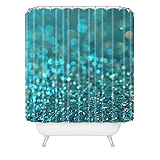 Deny Designs Lisa Argyropoulos Shower Curtain, Aquios, 69 Inches x 90 Inches