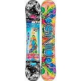 Gnu Damen Freestyle Snowboard Asym B-Nice BTX 145 2018