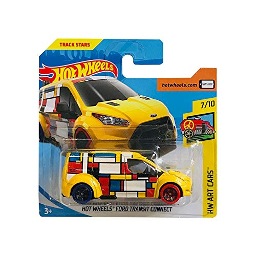 Mattel cars Hot Wheels Ford Transit Connect HW Art Cars 352/365 2018 Short Card